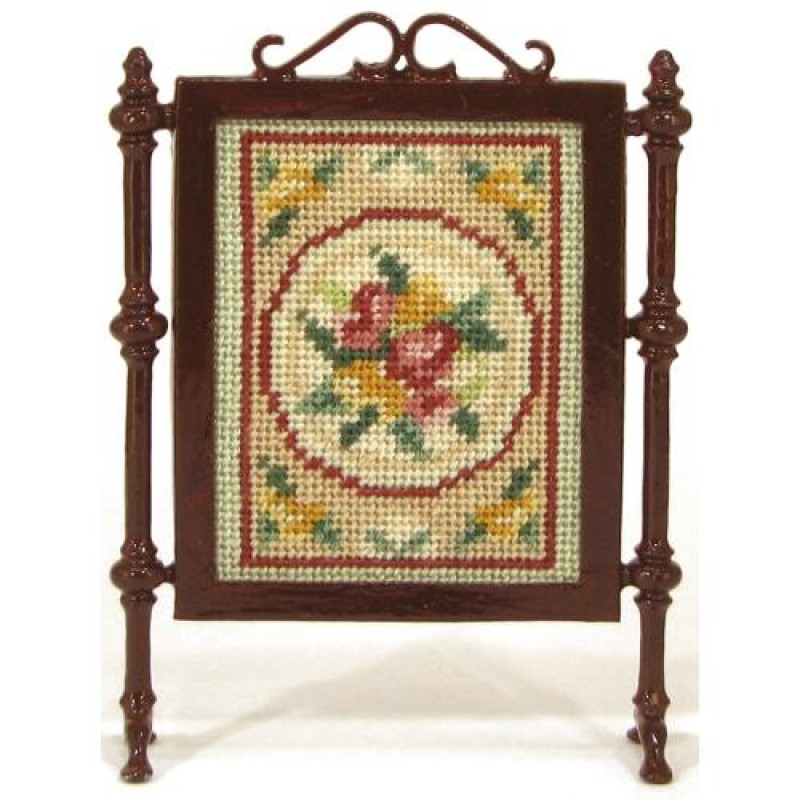 Alice (green) Dolls' House Needlepoint Firescreen Kit