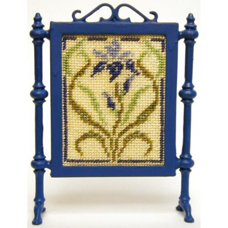 Nouveau Iris Dolls' House Needlepoint Firescreen Kit