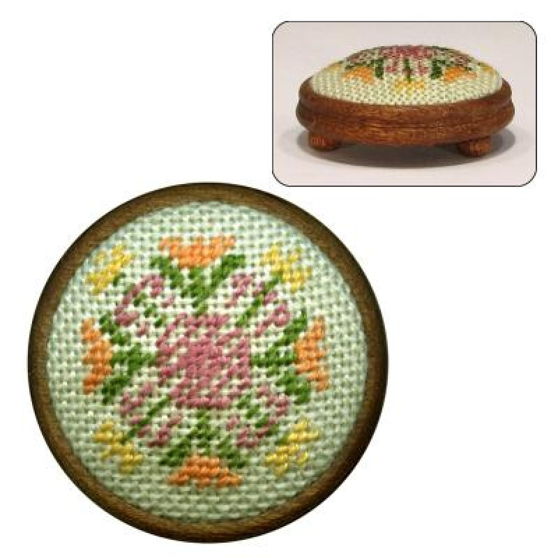 Elizabeth Dolls' House Needlepoint Footstool Kit