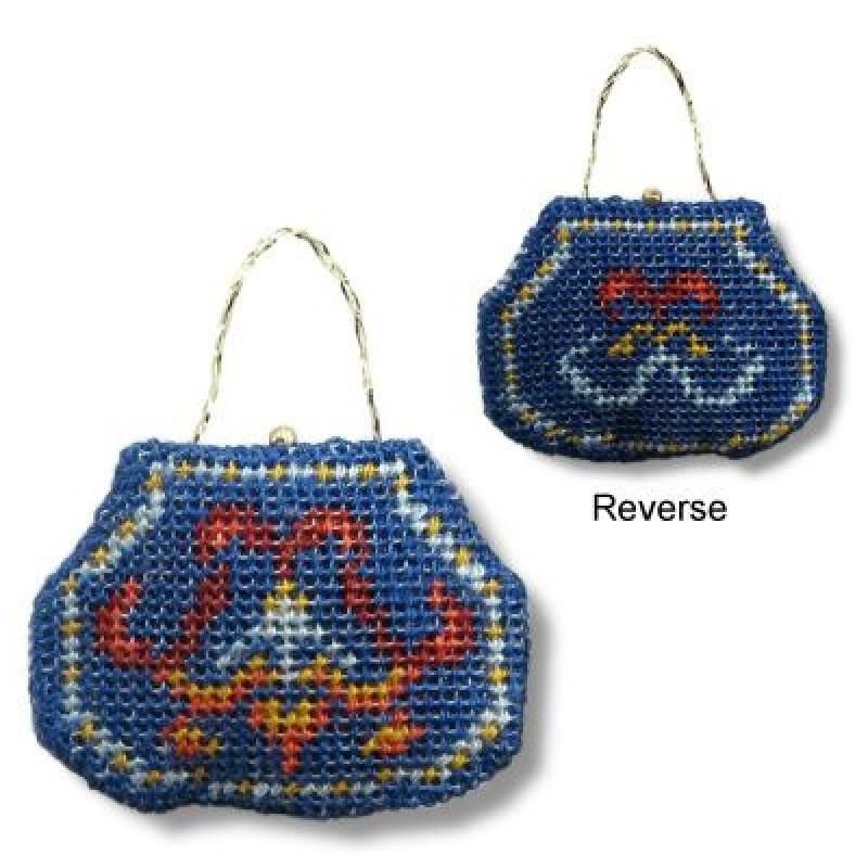 Jewel Dolls' House Needlepoint Handbag Kit