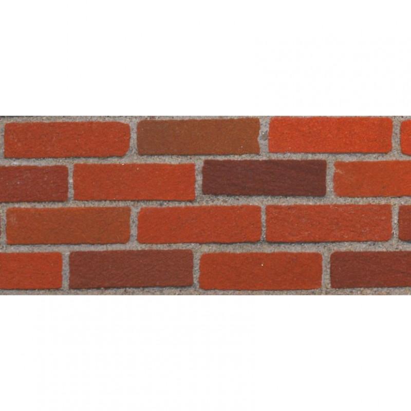 Multi Red Bricks, 50 Pack