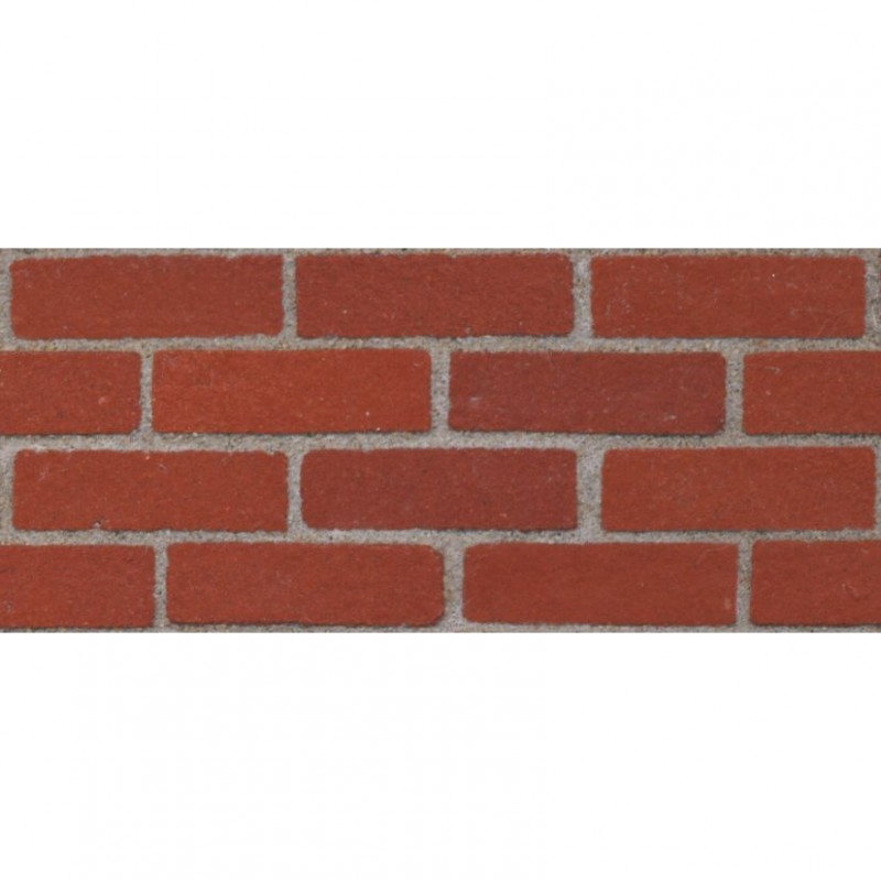 Victorian Red Bricks, 50 Pack