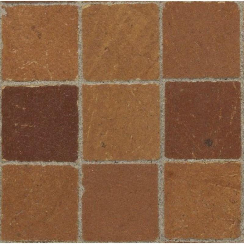 13mm Tan Floor Tiles, 100 Pack