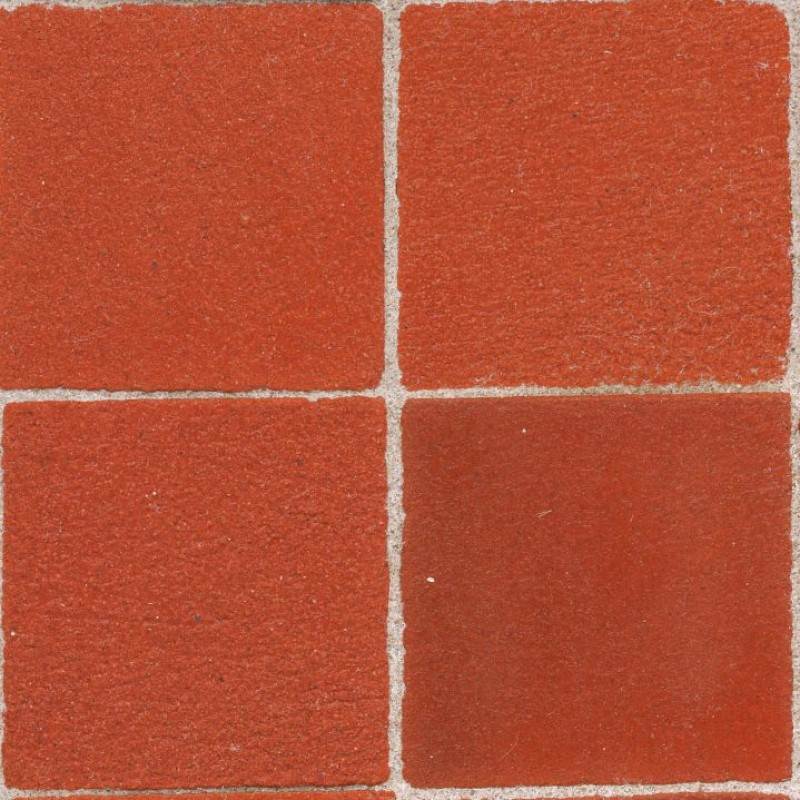 25mm Red Floor Blocks, 100 Pack