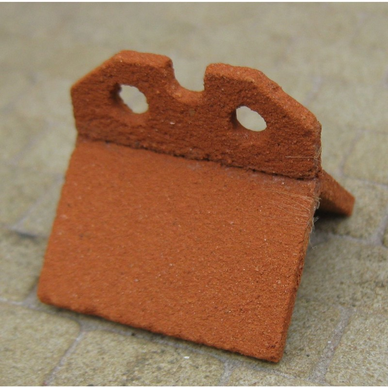 Victorian Crested Ridge Tile, 1 Piece