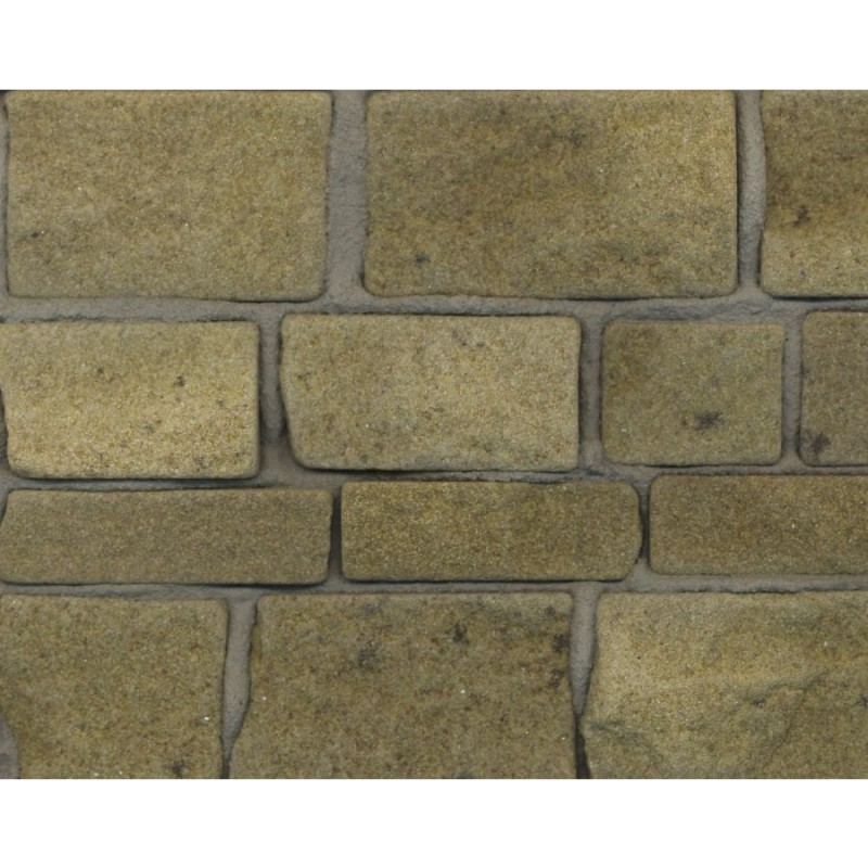 Yellow Sandstone Rough Faced Stone, Small Pack