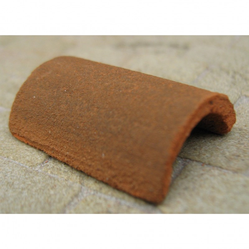 Rounded Country Mix Ridge Tiles, 10 Pieces