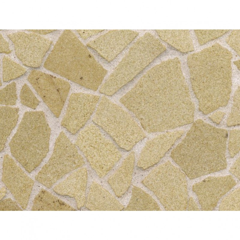 Yellow Sandstone Crazy Paving, Small Pack