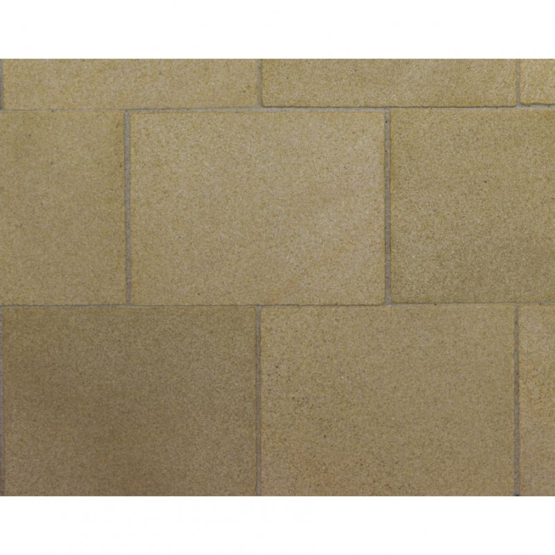 Yellow Sandstone Flagstones, 34 Pack