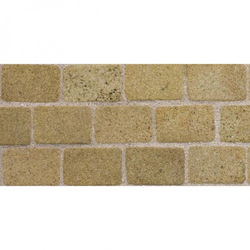 Yellow Sandstone Cobblestones, Large Pack
