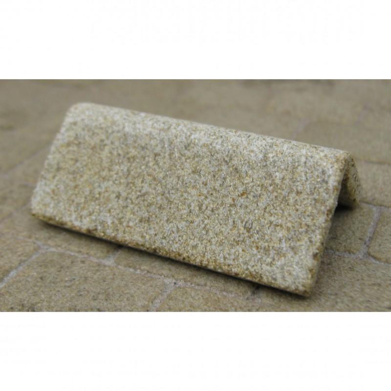 Yellow Sandstone Ridge Tiles, 8 Pieces