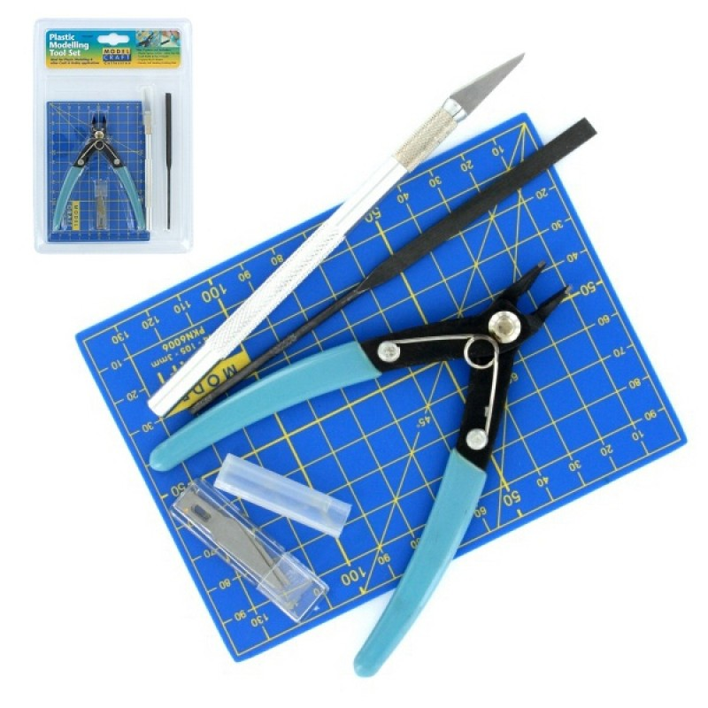 9pc Plastic Modelling Tool Set