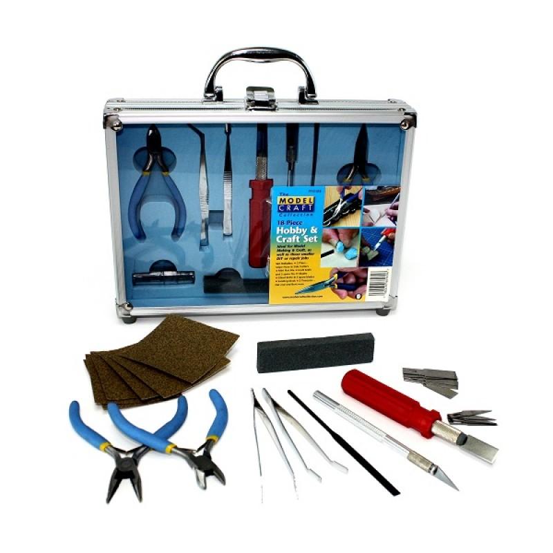 18pc Hobby & Craft Set