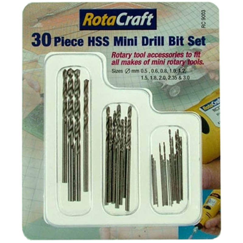 30pc Drill Bit Set