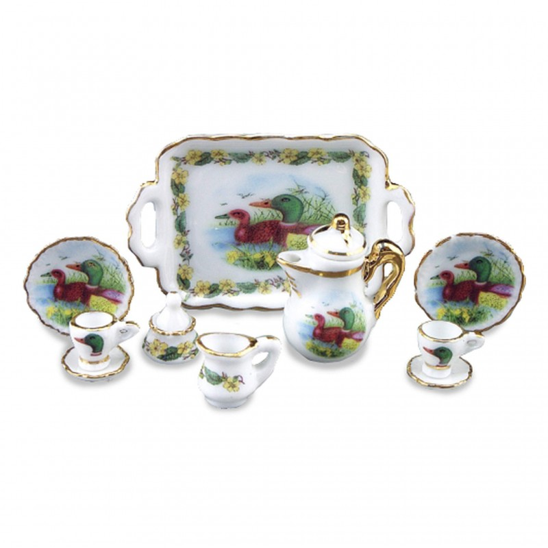 Duck Tea Set,11 Pieces