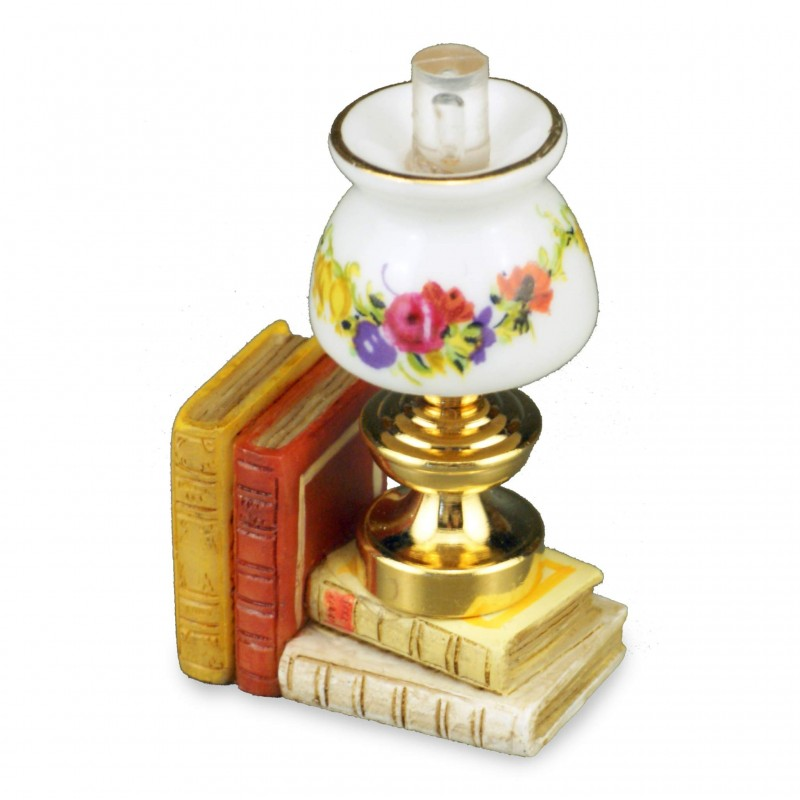 Table Lamp With Book