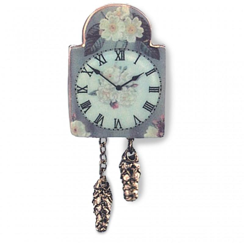 English Rose Clock