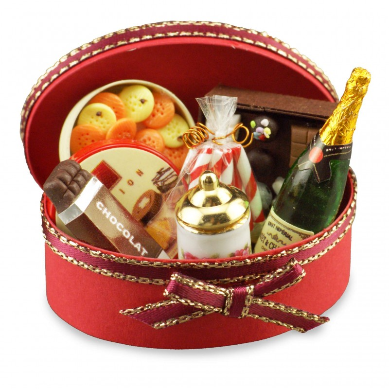 Oval Filled Gift Box