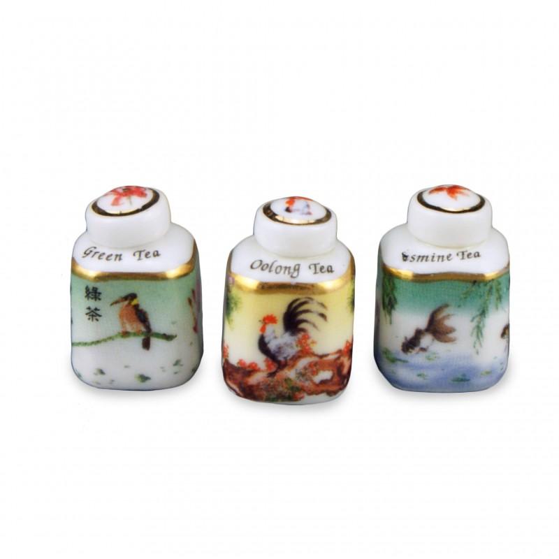 Asian Tea Boxes