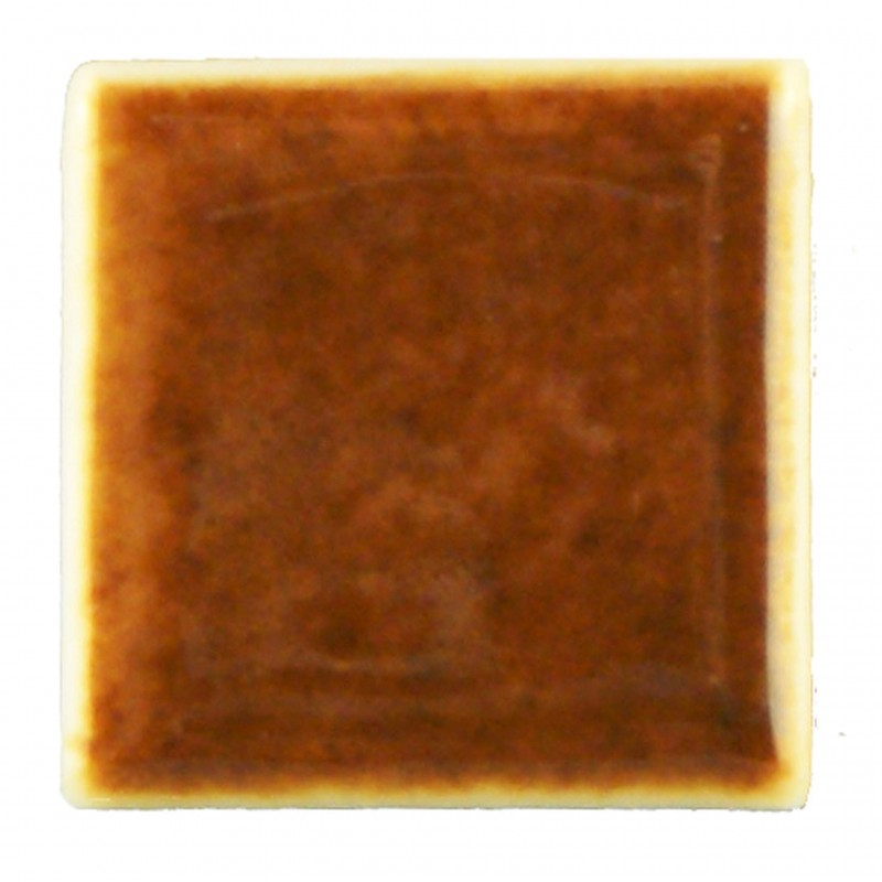 Small Tile Brown, 6 Pieces