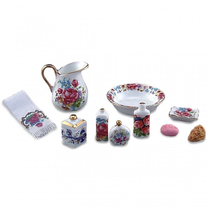 Dreden Rose Bath Accessories