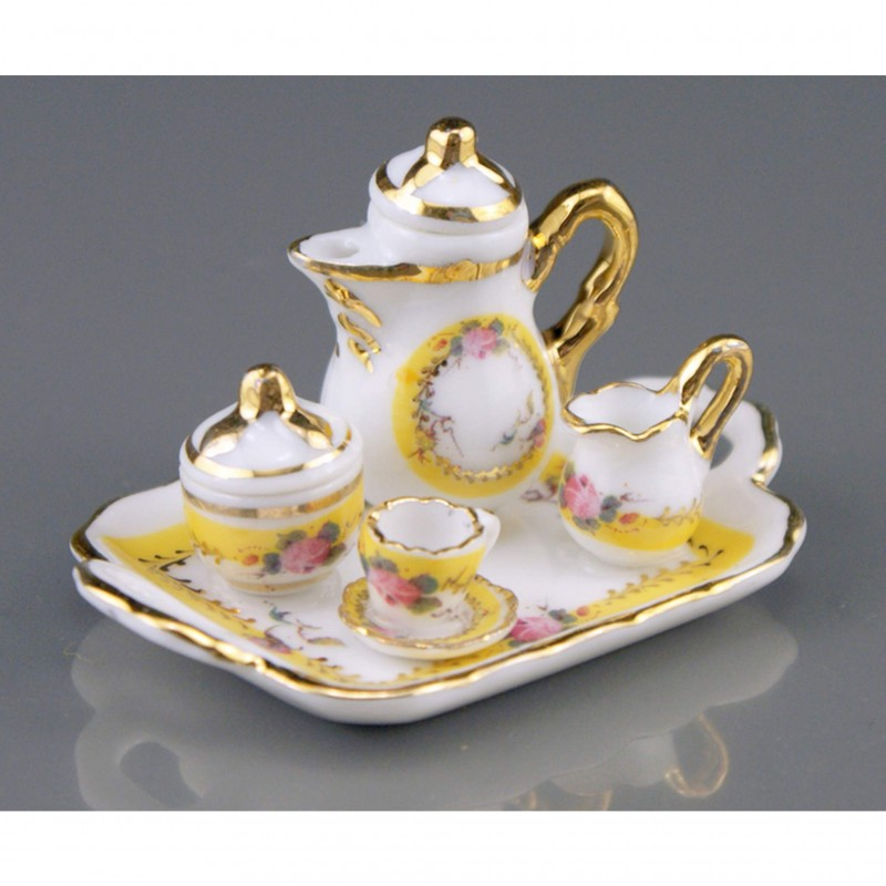 French Rose Coffee Tray