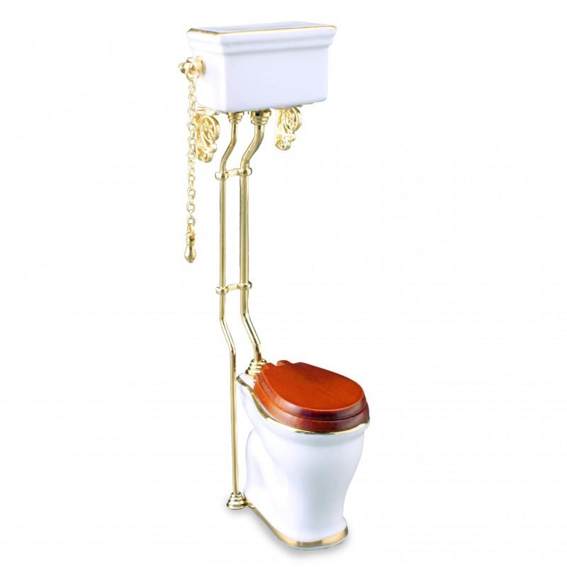 White High Flush Toilet