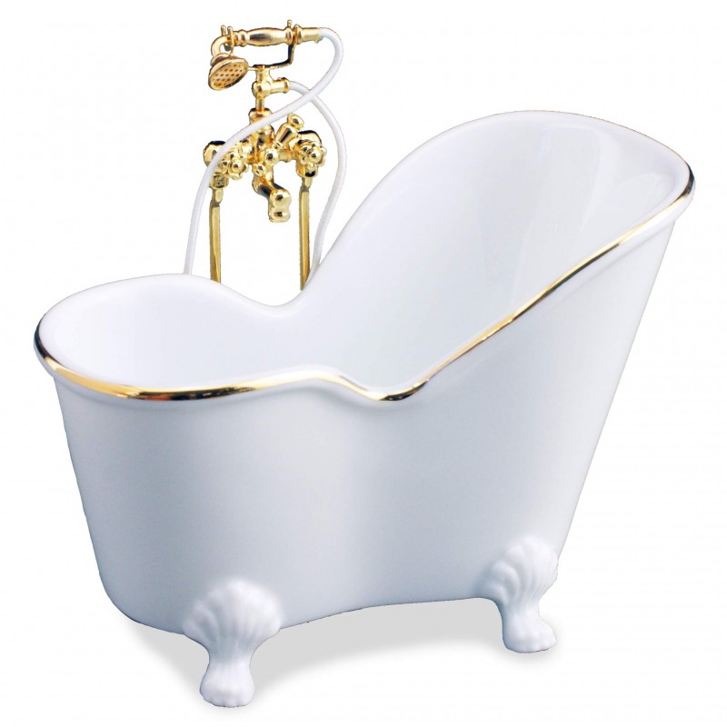White Sitting Bath