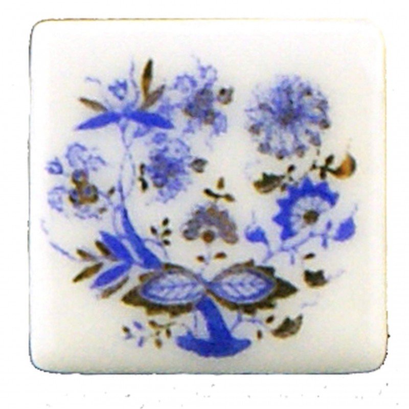 Tile Blue Onion 12 Pcs