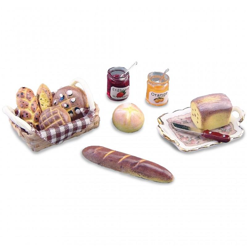 Bread and Preserve Assortment