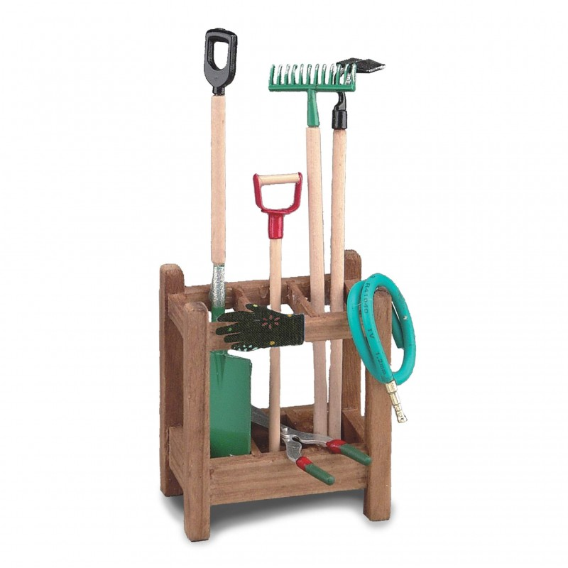 Reutters garden tool stand for Garden house for tools