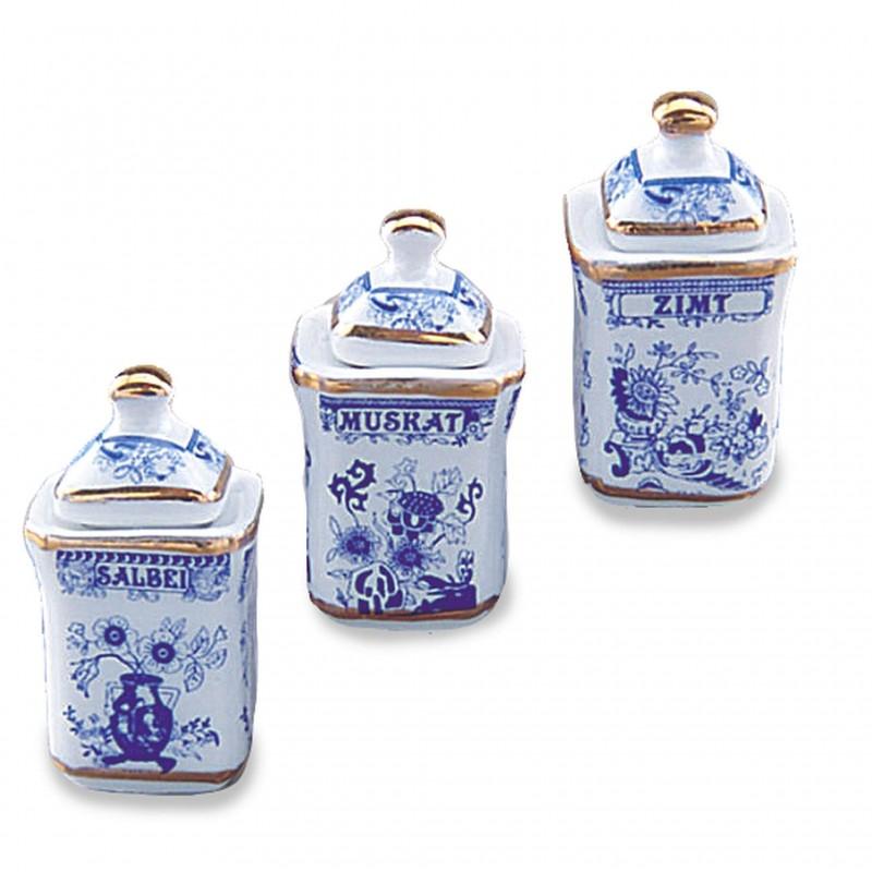 3 Spice Jars