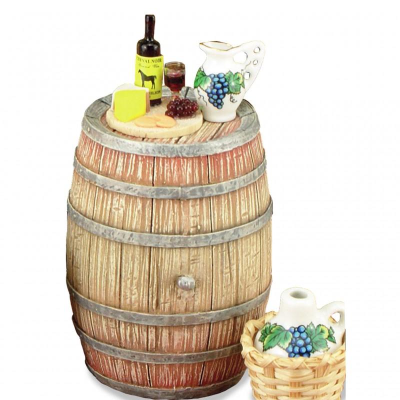 Wine Barrel Decorated
