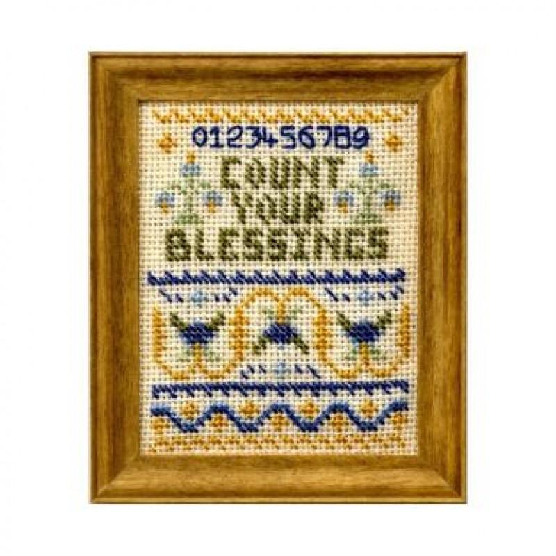 Count Your Blessings Dolls' House Needlepoint Sampler Kit