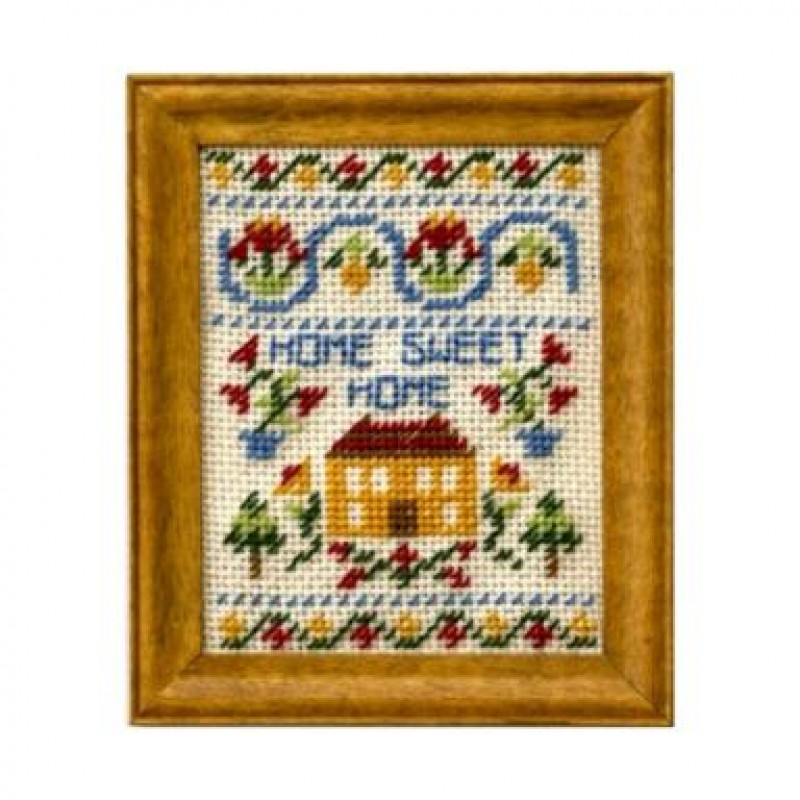Home Sweet Home Dolls' House Needlepoint Sampler Kit