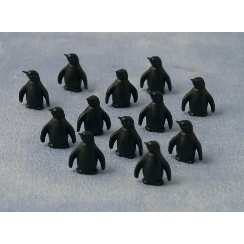 Babettes Miniaturen Penguin 12 pcs