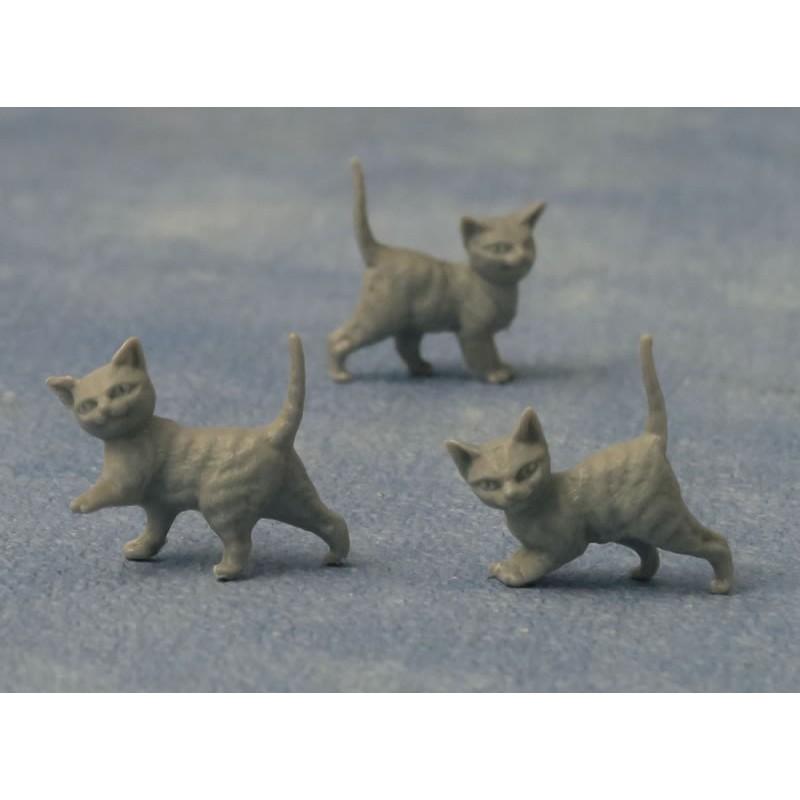 Babettes Miniaturen Grey Kittens 12 pcs