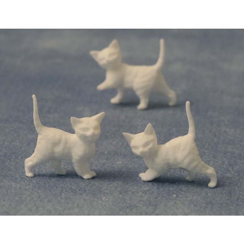 Babettes Miniaturen White Kittens 12 pcs