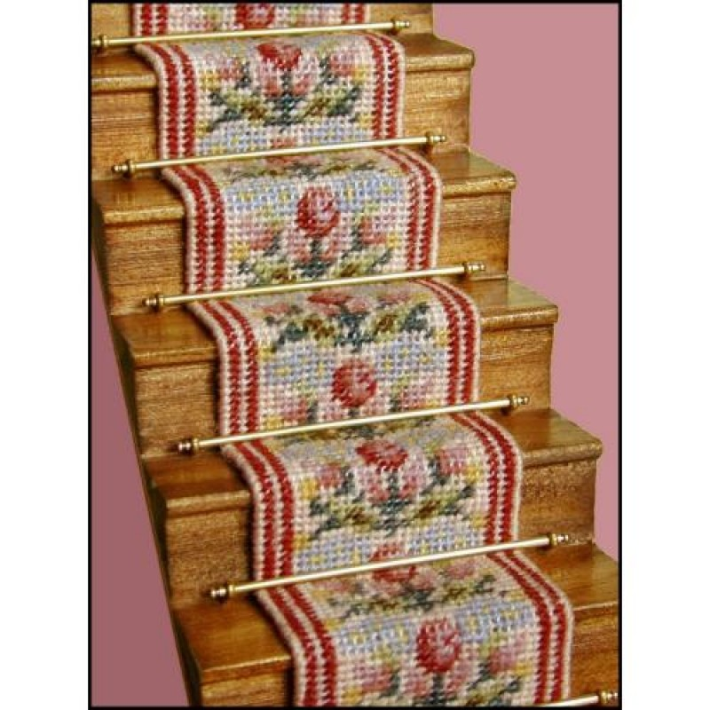 Bella Dolls' House Needlepoint Stair Carpet Kit