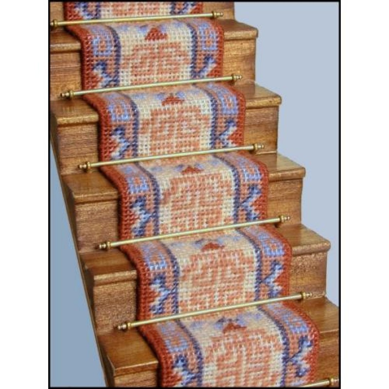 Patricia Dolls' House Needlepoint Stair Carpet Kit