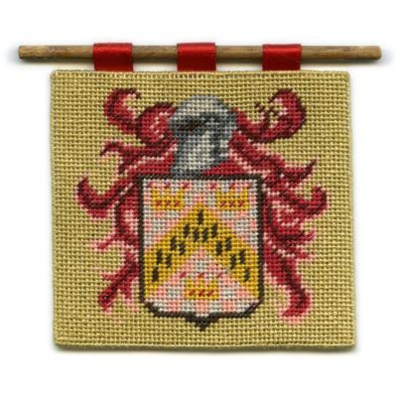 Chevron Dolls' House Needlepoint Wallhanging Kit