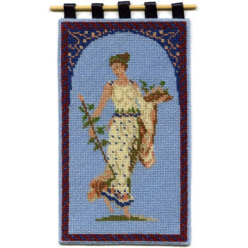 Grecian Lady Dolls' House Needlepoint Wallhanging Kit