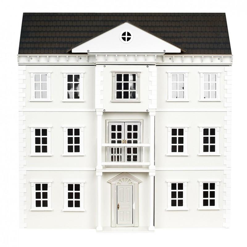 The Mayfair White Dolls' House Kit