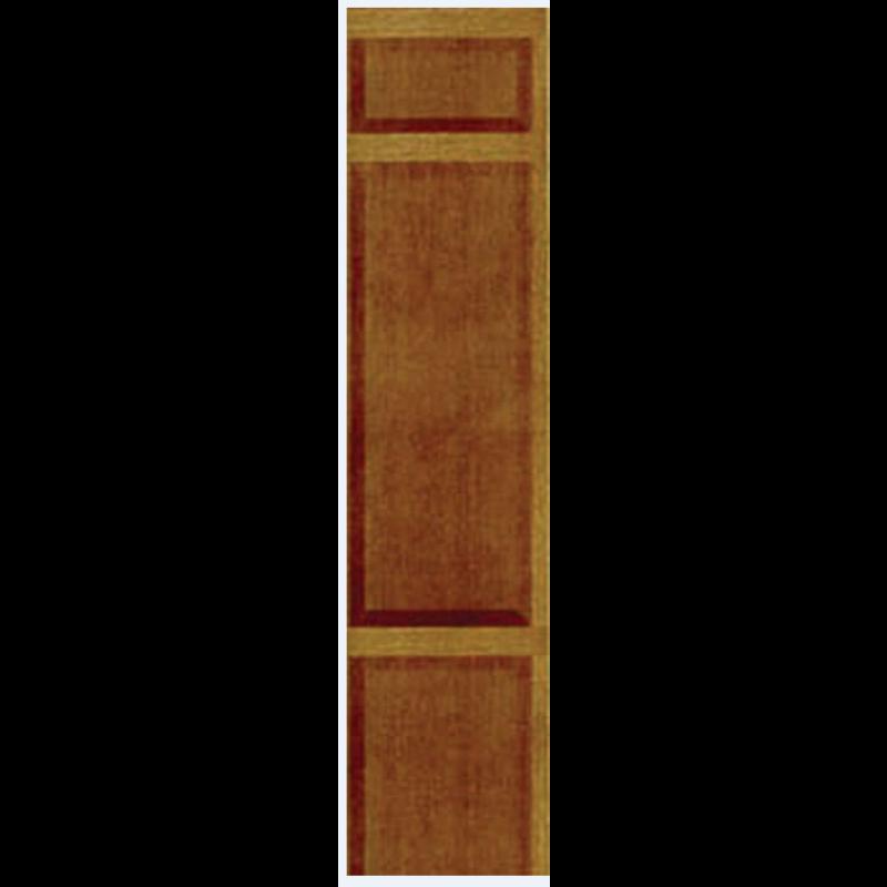 Dark Wood Panelling Paper