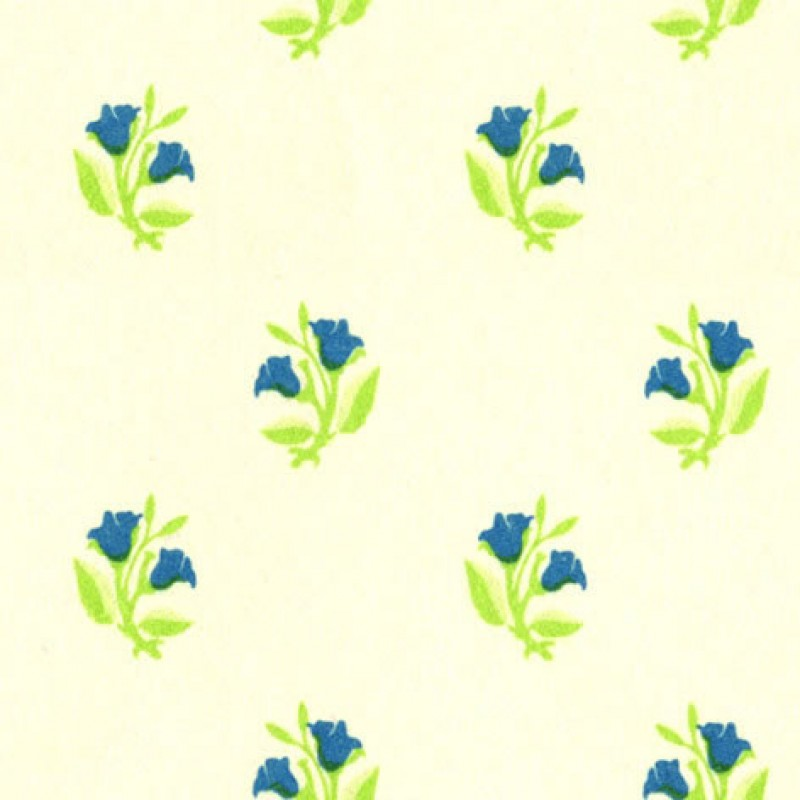 Small Interiors Rosebud Blue