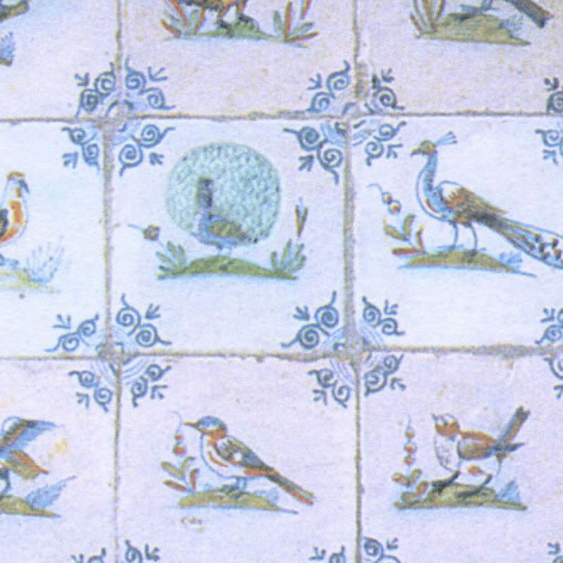 Small Interiors Delft Birds