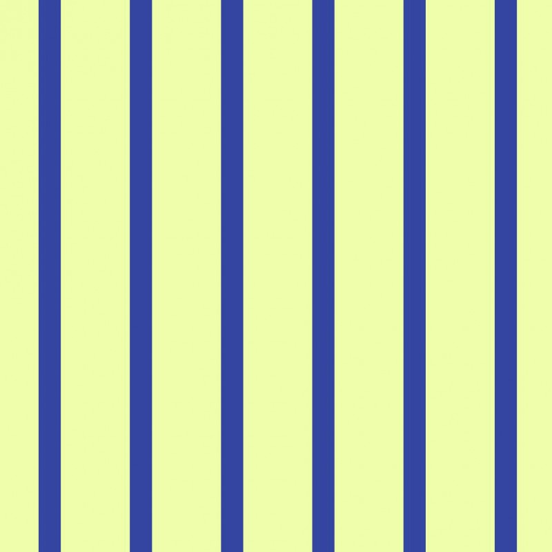 Small Interiors Stripe Dark Blue