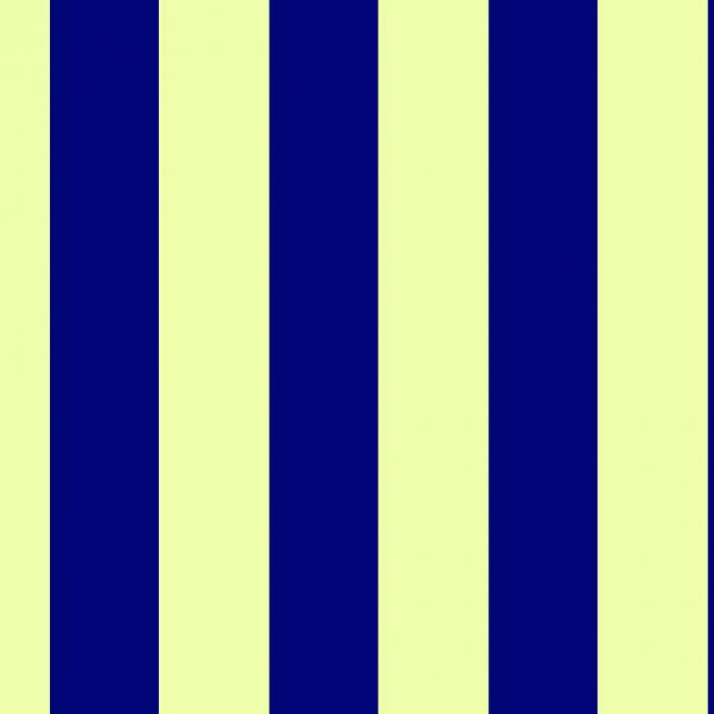 Small Interiors Wide Stripe Dark Blue