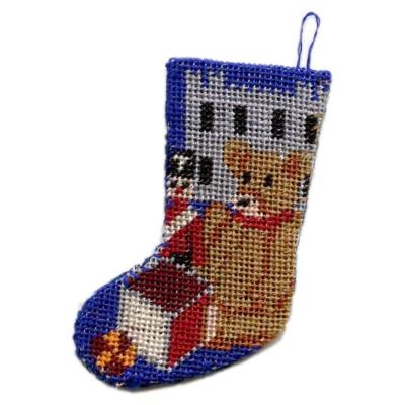 Toys for Boys Dolls' House Needlepoint Christmas Stocking Kit