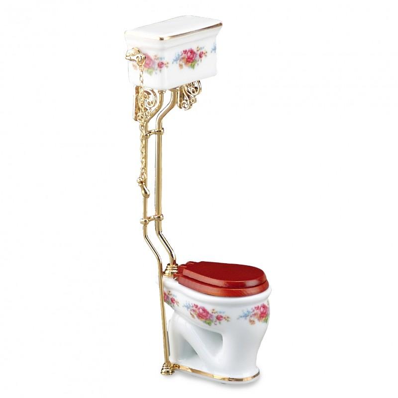 Dresden Rose High Flush Toilet